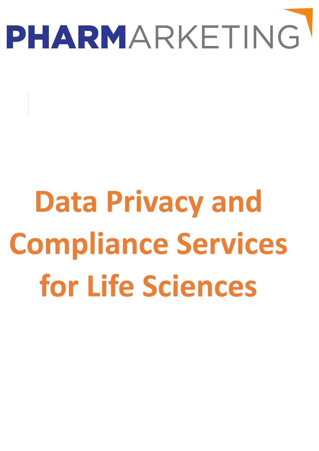 PharMarketing GDPR Life Sciences
